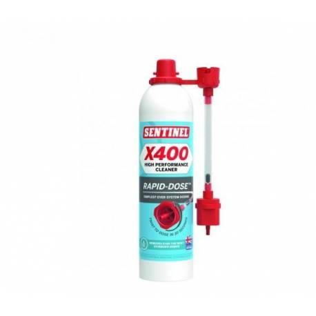 Désembouant X 400 SENTINEL pour installations de chauffage central aérosol rapide-dose 300 mL