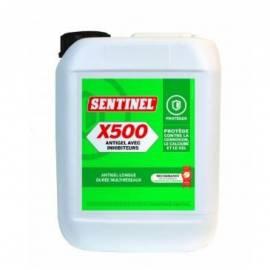 X500 ANTIGEL AVEC INHIBITEURS BIDON DE 5L SENTINEL Protection durable contre le gel, la corrosion et le calcaire