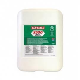 X500 ANTIGEL AVEC INHIBITEURS JERRICAN DE 20L SENTINEL Protection durable contre le gel, la corrosion et le calcaire