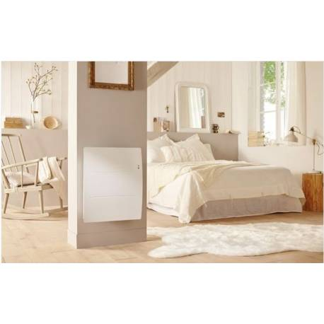 ATLANTIC RADIATEUR CONNECTE AGILIA PI CO HORIZONTAL 1250W BLANC