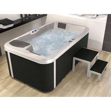 KINEDO A200 RELAX SPA 2 PLACES ALLONGEES 200x117x78 cm 450 L SUMMER SAPPHIRE